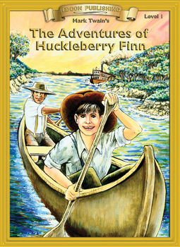 The Adventures of Huckleberry Finn 10 Chapters, Student Ac