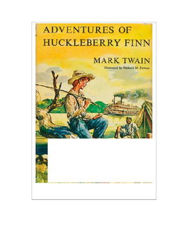 The Adventures of Huckleberry Finn ~ COMMON CORE Final Tes