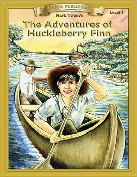 The Adventures of Huckleberry Finn RL 1-2 ePub with Audio