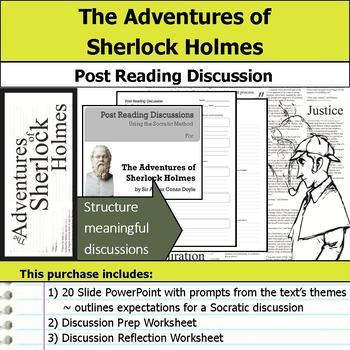 The Adventures of Sherlock Holmes - Socratic Method - Post