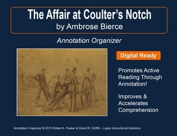 """THE AFFAIR AT COULTER'S NOTCH"" by AMBROSE BIERCE: Annotat"