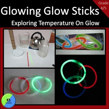 Experiment with Temperature on the Brightness of Glow Stic