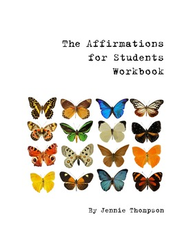 The Affirmations for Students Workbook