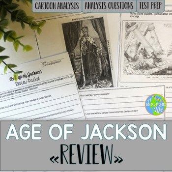 Andrew Jackson Unit Review Packet