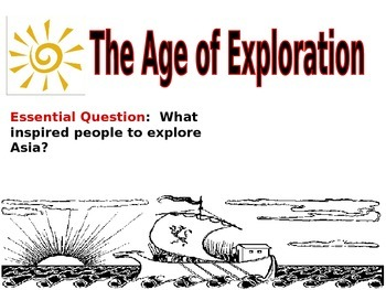 The Age of Exploration PowerPoint Presentation from Colubm