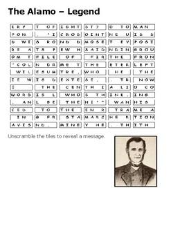 The Alamo Legend Puzzle