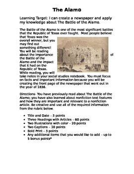 The Alamo - Texas History