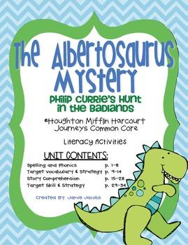 The Albertosaurus Mystery (Journeys Supplemental Materials)