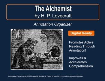"""""""ALCHEMIST"""" by H. P. Lovecraft: Annotation Organizer"""