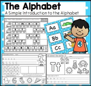 The Alphabet - A No-Prep, Printable Introduction to the Alphabet.