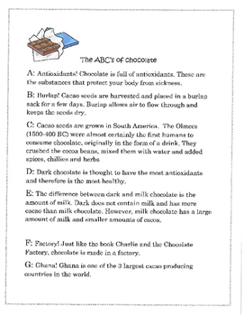 The Amazing World of Chocolate