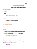 The American Economy Student Notes Section 1-3