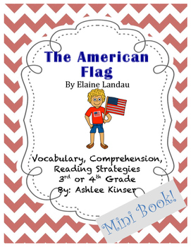 The American Flag by Elaine Landau - Vocabulary and Compre