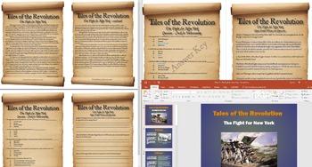 The American Revolution - The Fight for New York Full Less