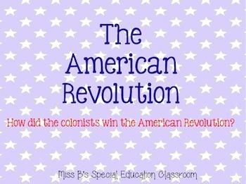 The American Revolution Unit Bundle