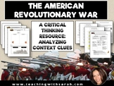 The American Revolutionary War: Analyzing Context Clues