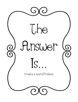 The Answer Is...