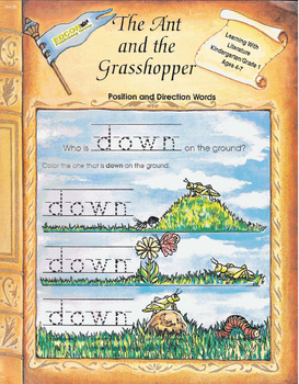 The Ant and the Grasshopper - Position and Direction