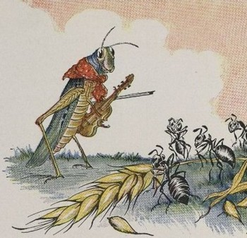 The Ant and the Grasshopper Song - Aesop's Fables
