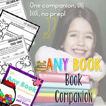 The 'Any Book' Book Companion       * No Prep *