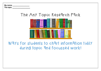 The Any Topic Research Pack