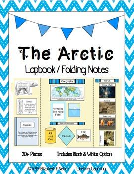 The Arctic: Lapbook / Interactive Notebook