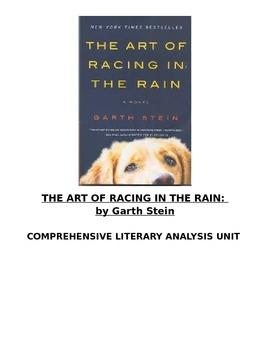 The Art of Racing in the Rain Literature Unit