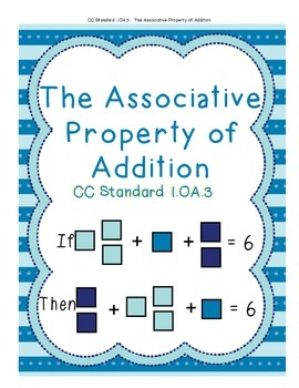 The Associative Property of Addition in Grade 1, 1.OA.3