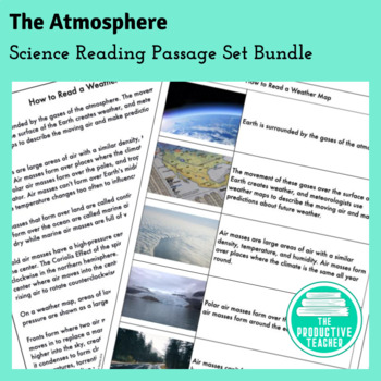 The Atmosphere: Reading Passages and Questions with Audio Support