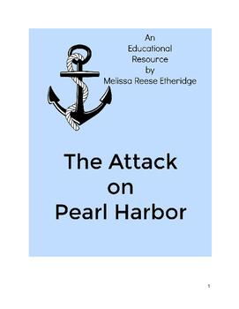 The Attack on Pearl Harbor Close Read