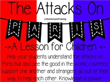 The Attacks on Paris {A Lesson for Children}