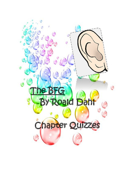 The BFG Chapter Quizzes