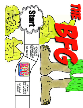 The BFG by Roald Dahl - Game Set