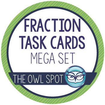 The BIG Set of Fractions Task Cards
