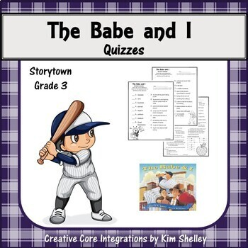 The Babe and I - Matching Game and Quizzes