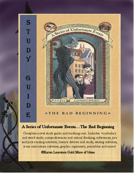 "The Bad Beginning ""A Series of Unfortunate Events"" Novel R"