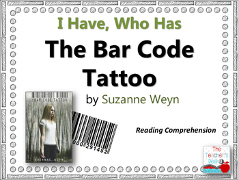 The Bar Code Tattoo I Have, Who Has Reading Comprehension
