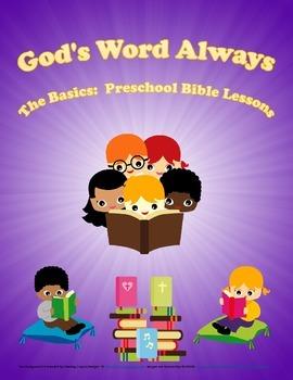 The Basics Preschool Bible Lesson Freebie: Jesus is Born –