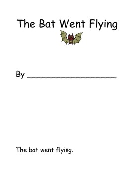 The Bat Flew- Interactive Halloween book with POSITIONAL M