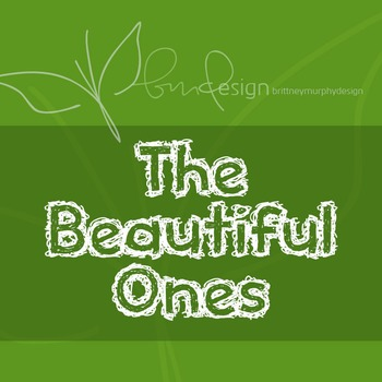 The Beautiful Ones Font for Commercial Use