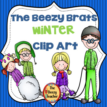 The Beezy Brats Winter Clip Art