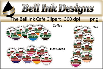The Bell Ink Cafe Collection Clipart
