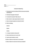The Benefits of Breastfeeding Comprehension Questions for