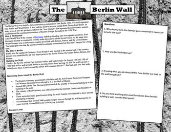 The Berlin Wall