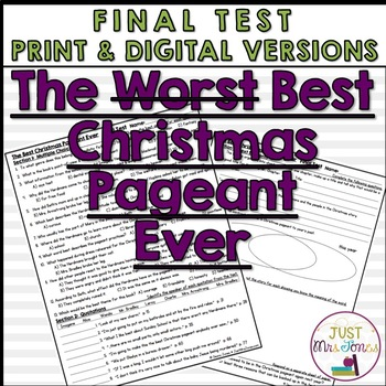 The Best Christmas Pageant Ever Final Test