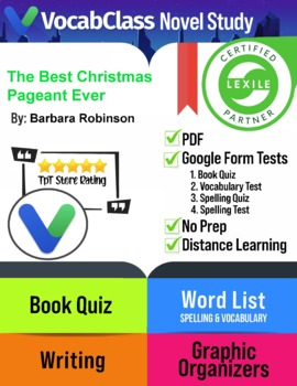 The Best Christmas Pageant Ever! Novel Study Guide | Tests