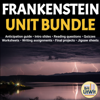 Frankenstein Unit Bundle (Mary Shelley) - 85 Pages