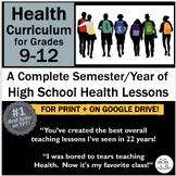 High School Health Curriculum 9-12: Newly Enhanced/Revised