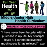 Middle/Junior High Health: NEWLY ENHANCED!  212 Health Les