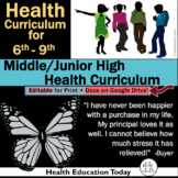 Middle/Junior High Health: NEWLY ENHANCED!  212 Health Les